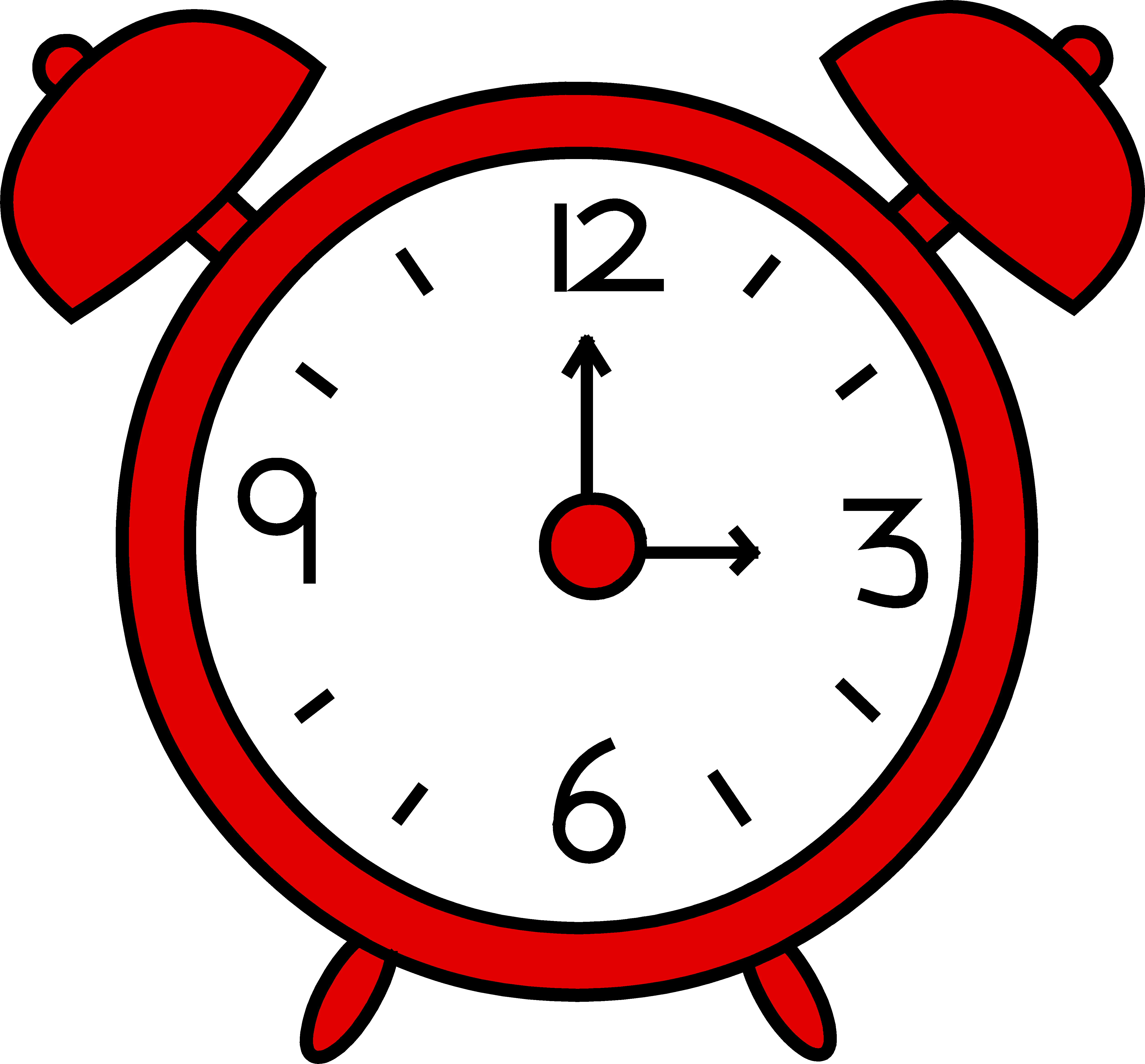 Clock free . Alarm clipart cartoon graphic library stock