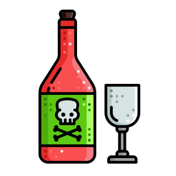 Alcohol bottle cartoon png. Premium icon download in