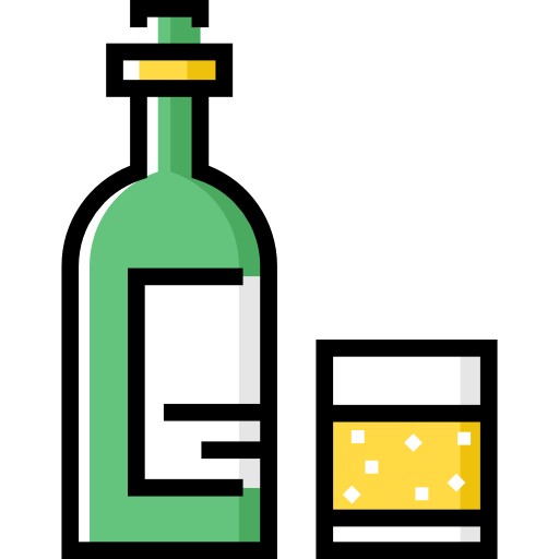 Alcohol bottle cartoon png. Whiskey icon svg