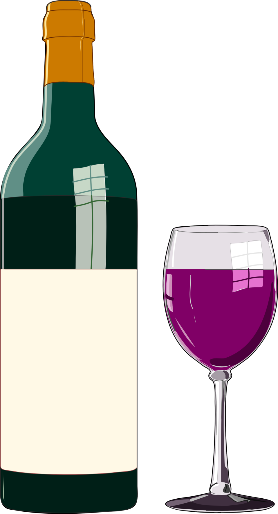Alcohol bottle cartoon png. Public domain clip art