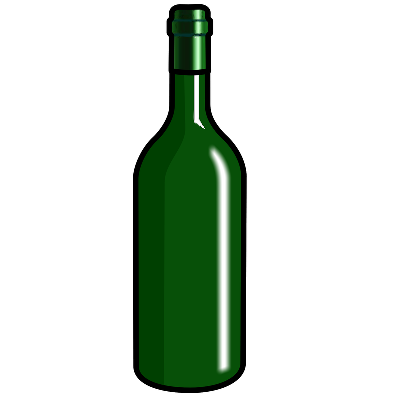 Alcohol bottle cartoon png. Symbol drinks talksense wine