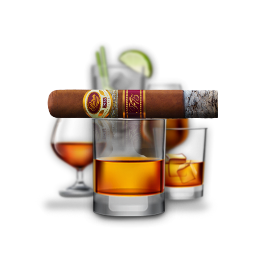 cigar and drink png