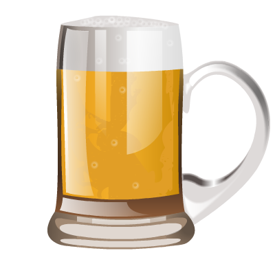Alcohol glass png. Brilliant by iconshock beer