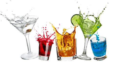 Transparent alcohol drinking. Drinks png images pluspng