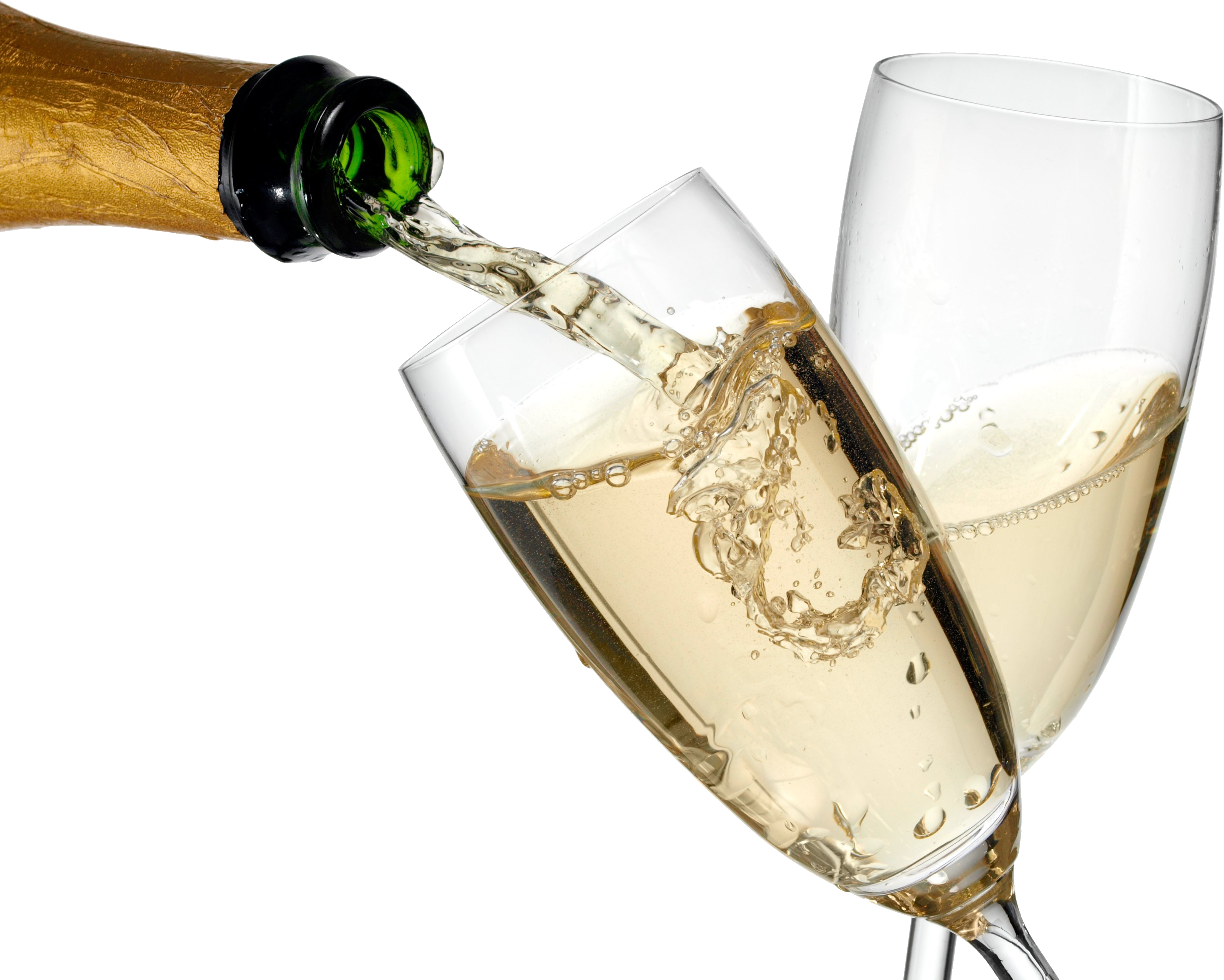 Alcohol pouring png. Champagne images bottle glass