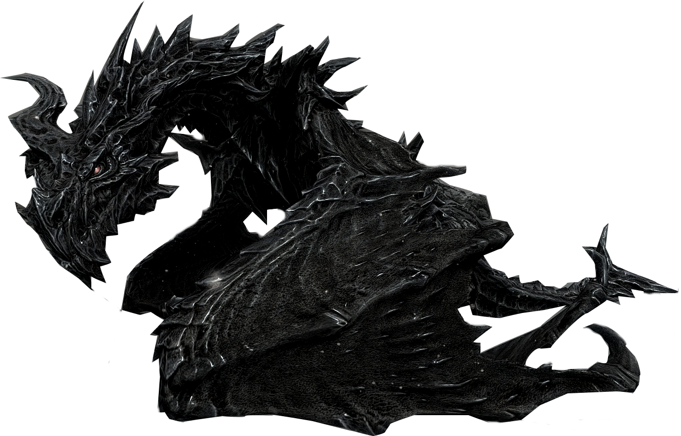 Alduin drawing head. Skyrim skyrimalduin freetoedit report