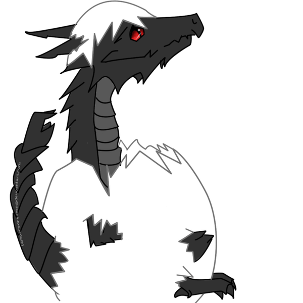 Alduin drawing head. Baby vtwctr tampereddreams deviantart