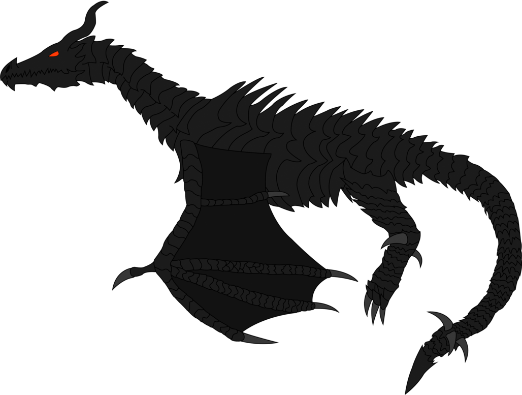 Alduin drawing dragon. The world eater by
