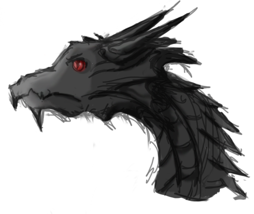 By tampereddreams on deviantart. Alduin drawing dragon clipart transparent library