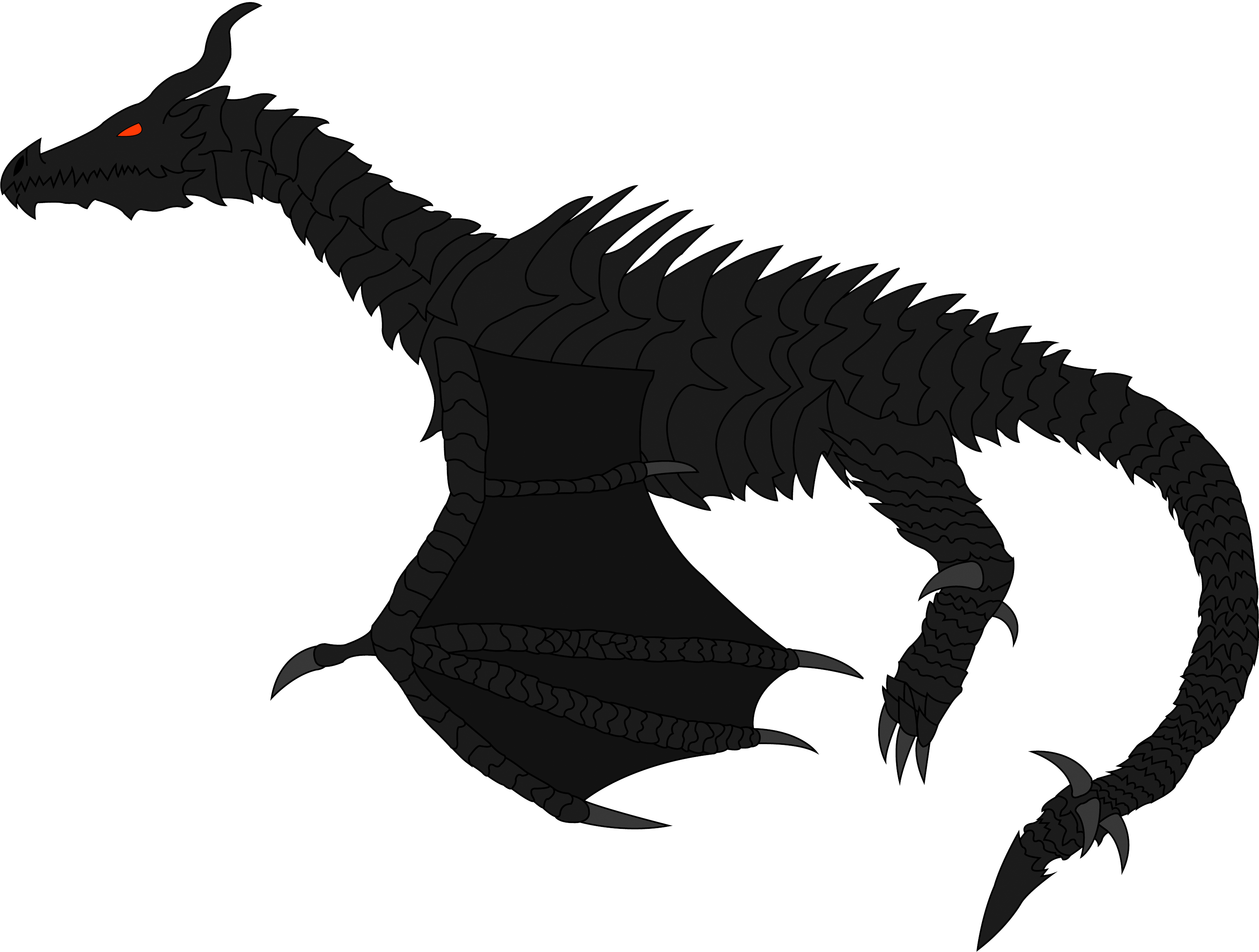 Alduin drawing eld dragon. The world eater by