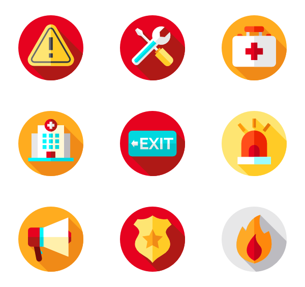 Alert icon png. Icons free vector emergencies