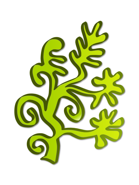 Weeds clipart animated. Algae