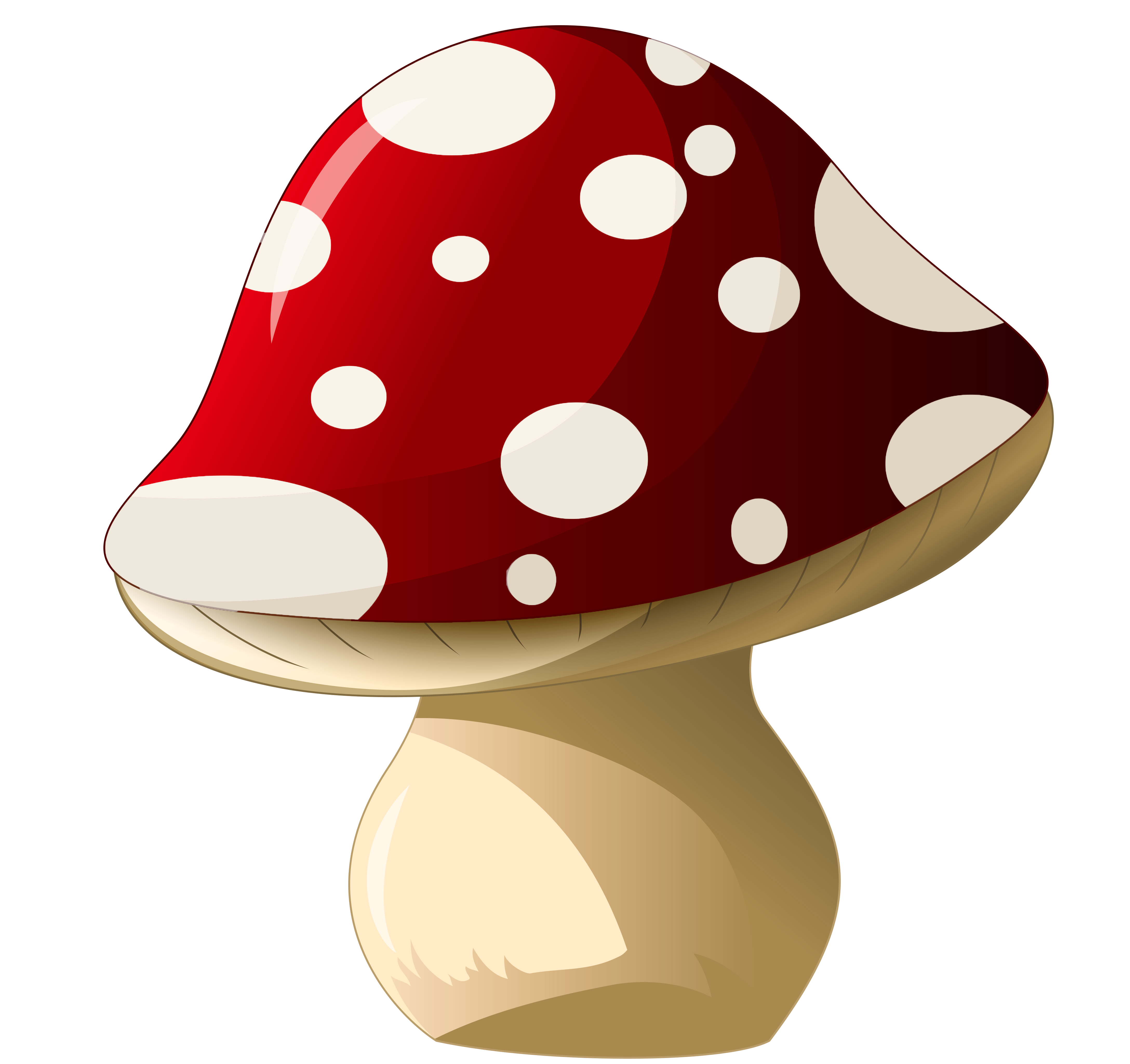 Mushroom png clipart picture. Mushrooms vector cute little clip art library