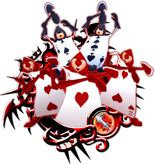 Alice in wonderland playing cards png. Card khux wiki