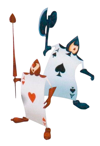 Alice in wonderland playing cards png. Card mimicry superpower wiki