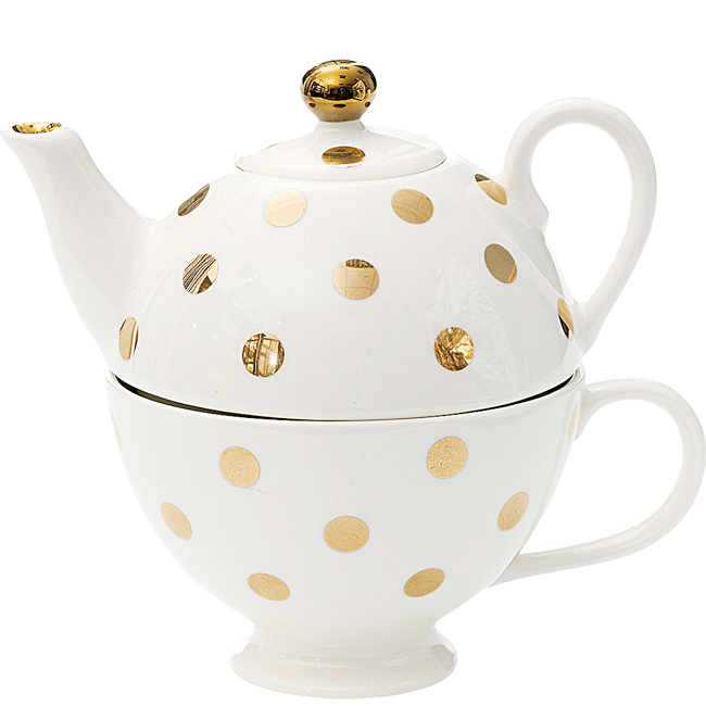 Alice in wonderland stacked teapot png. Miss etoile dots tea