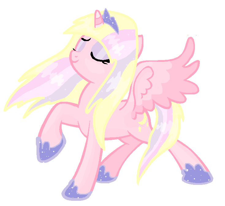 What if sugar moon. Alicorn drawing anime clip
