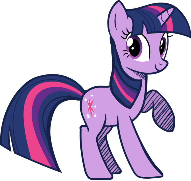Alicorn drawing beginner. How to draw twilight