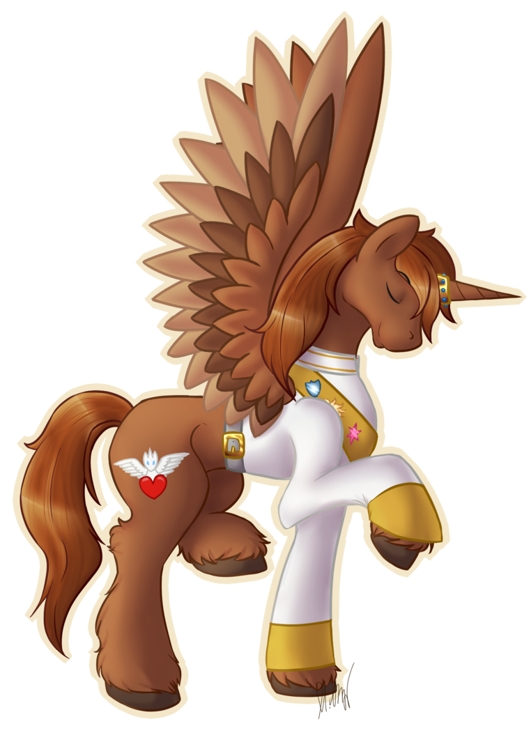 Alicorn drawing pony horse. My little character profile