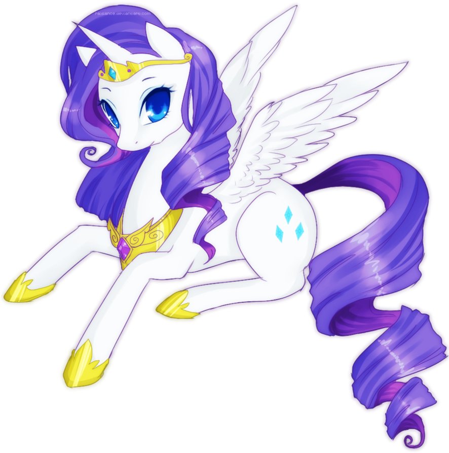 Alicorn drawing cartoon. Collection of cute
