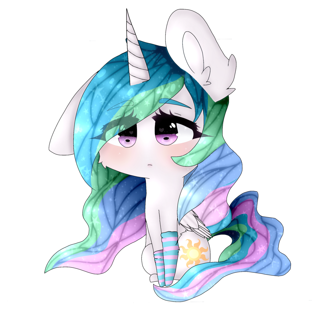alicorn drawing winter