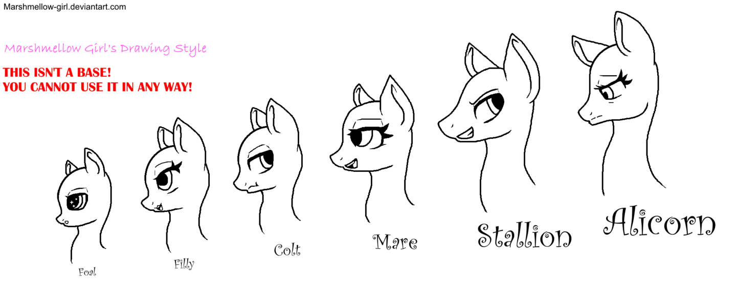 Drawing details sad. My style mlp heads