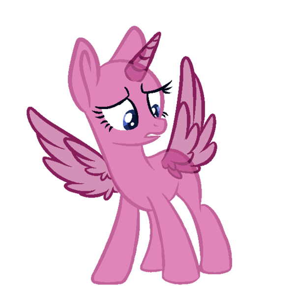 Alicorn drawing draw. Mlp base by cinna