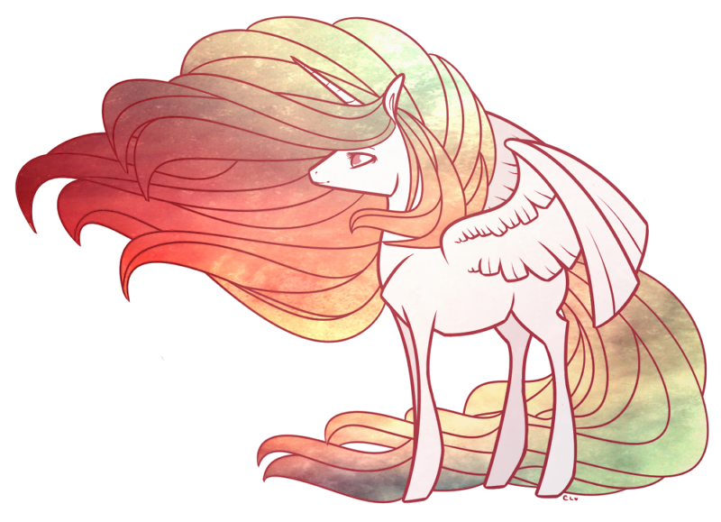 Alicorn drawing easy. Collection of high