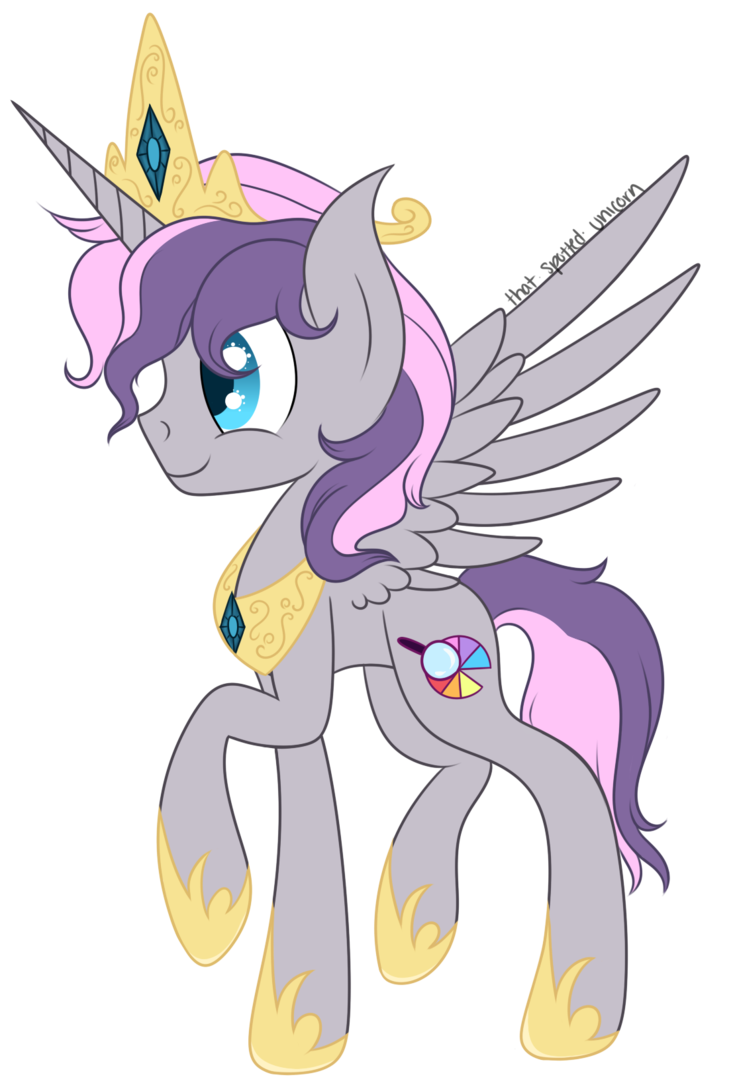 Alicorn drawing easy. Gift princess digibrony by