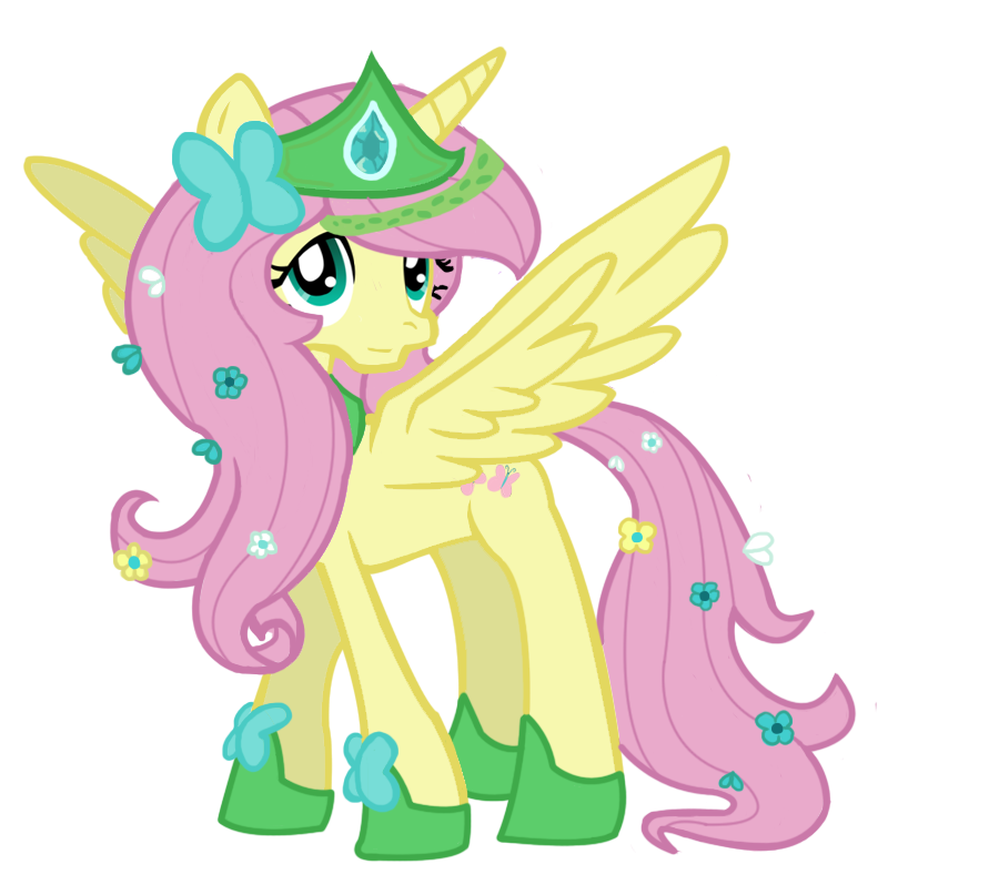 Alicorn drawing fluttershy. Princess by schnuffitrunks on