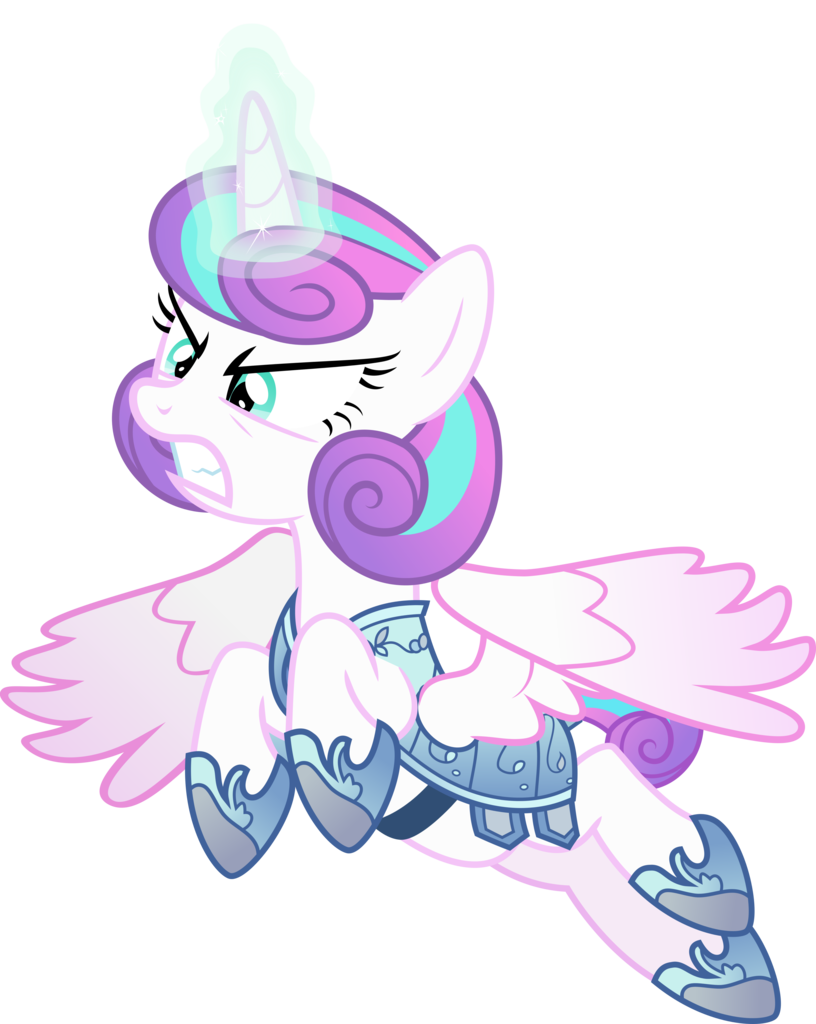 Alicorn drawing heart. Angry armor artist