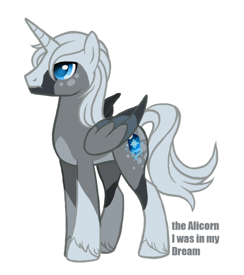 The of my dream. Alicorn drawing ice download