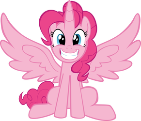 Alicorn drawing pinkie pie. Princess favourites by divinedesserts