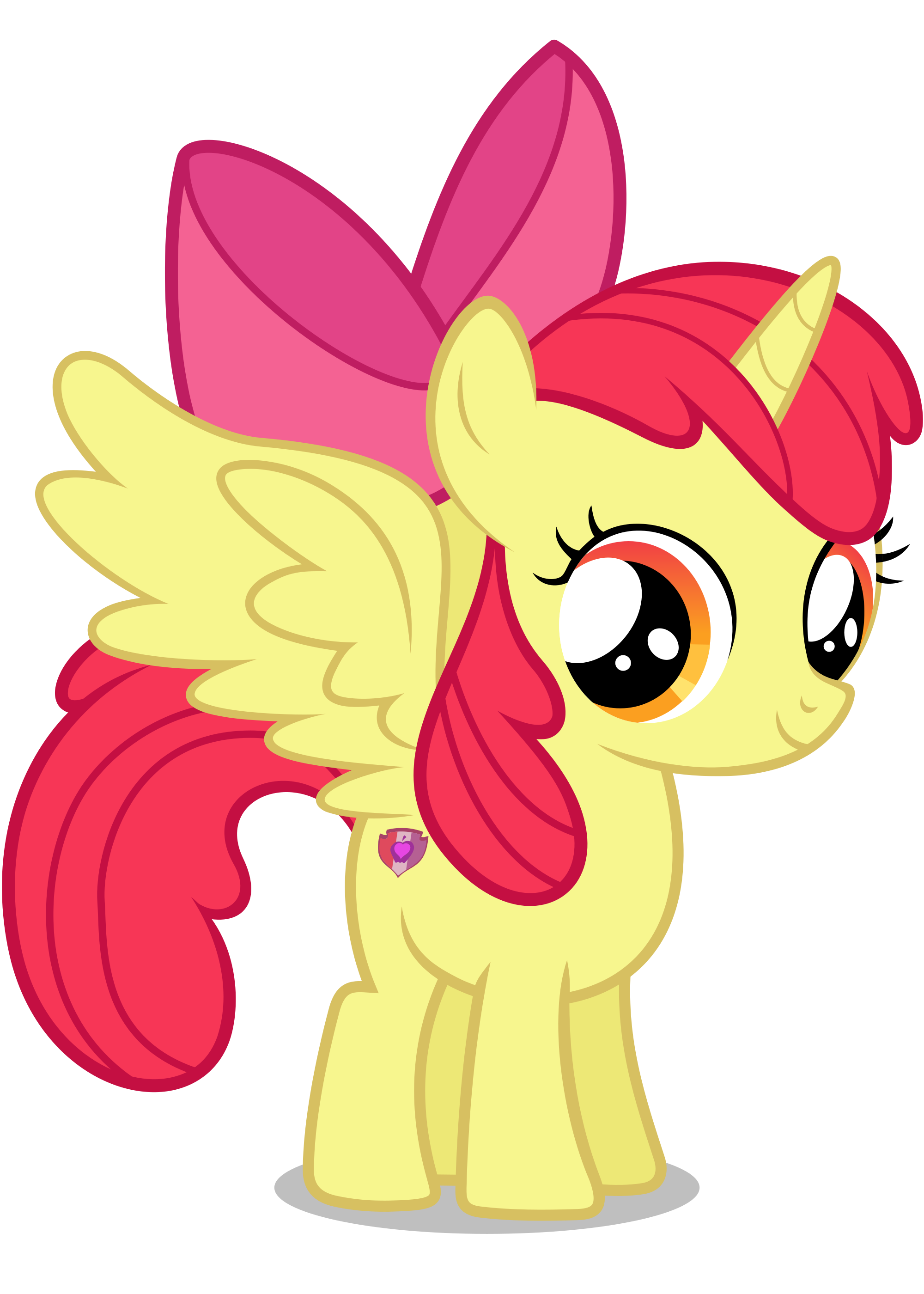 Alicorn drawing pony horse. Request apple bloom by