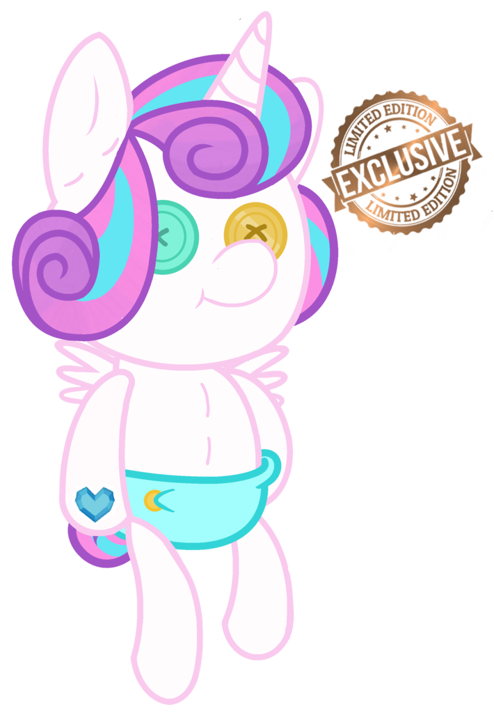 Alicorn drawing simple. Artist little button