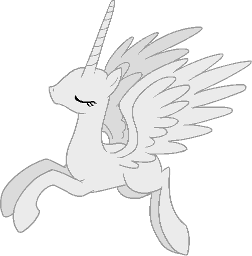 Base mlp pinterest pony. Alicorn drawing picture transparent library