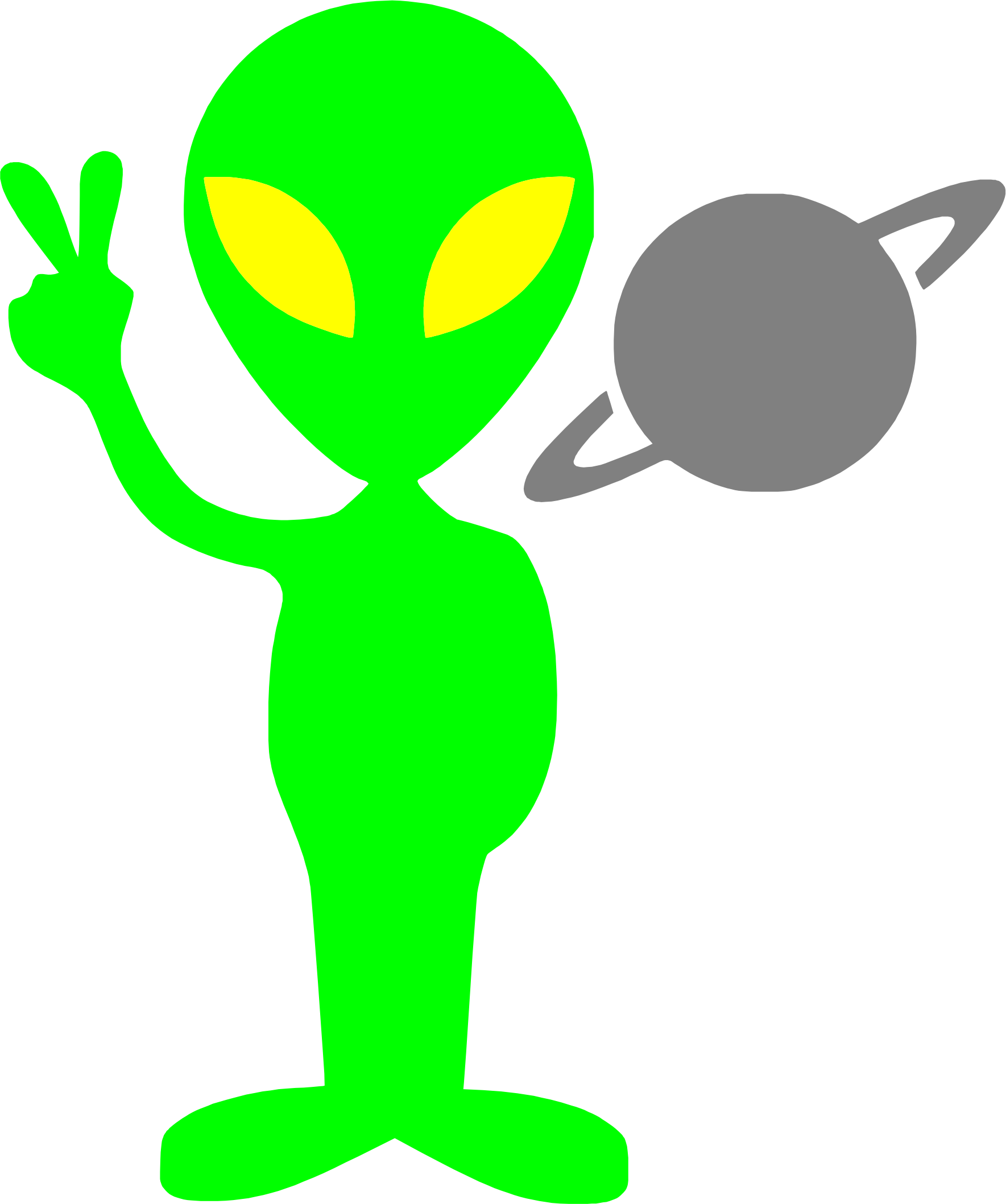 Alien cartoon png. Tobyaxis the icons free