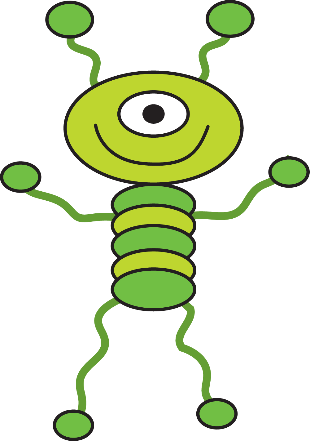 Alien clipart alein. Funny at getdrawings com