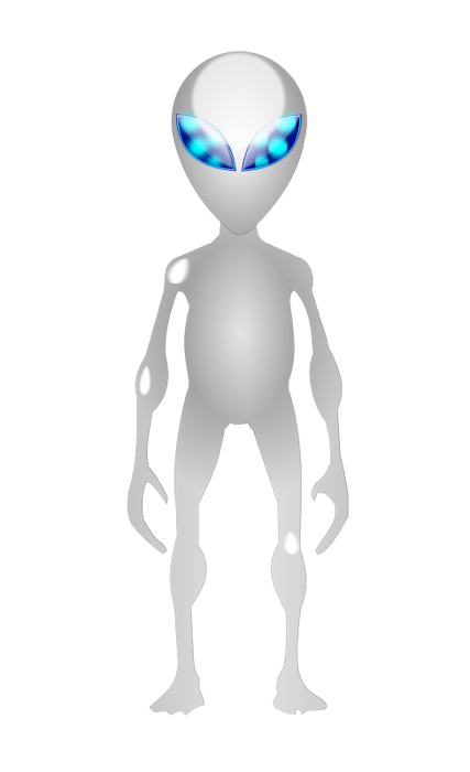 Alien clipart standing. Free and graphics of