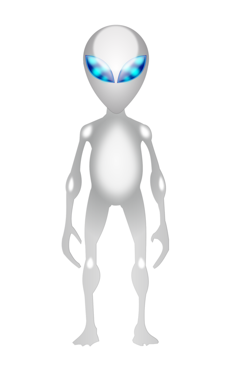 Alien clipart standing. Extraterrestrial life unidentified flying