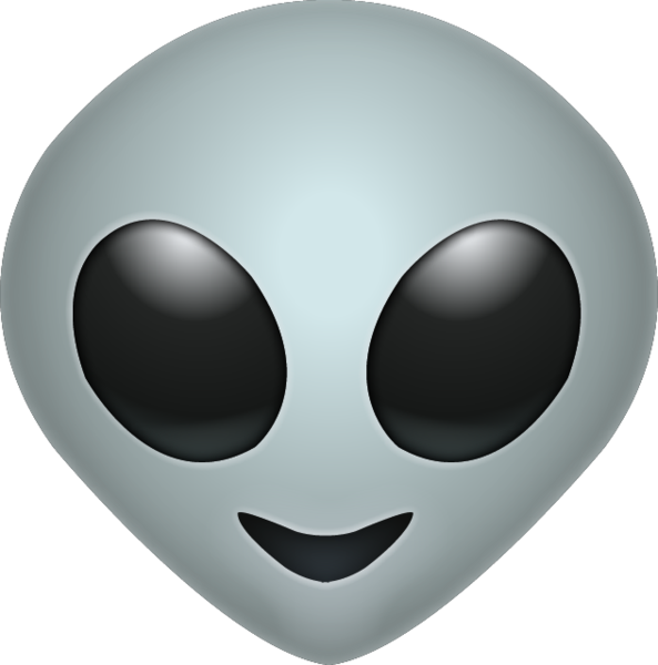 alien face png