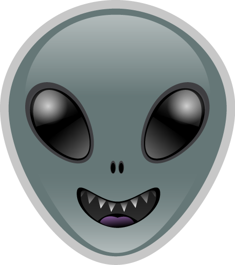 Alien emoji png. Hungry by emoteez on