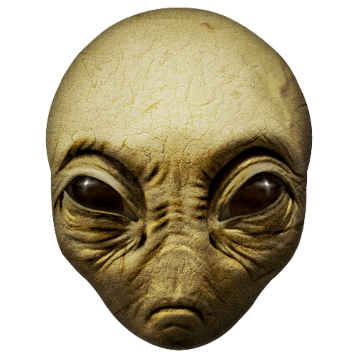 Alien face png. Download free close up