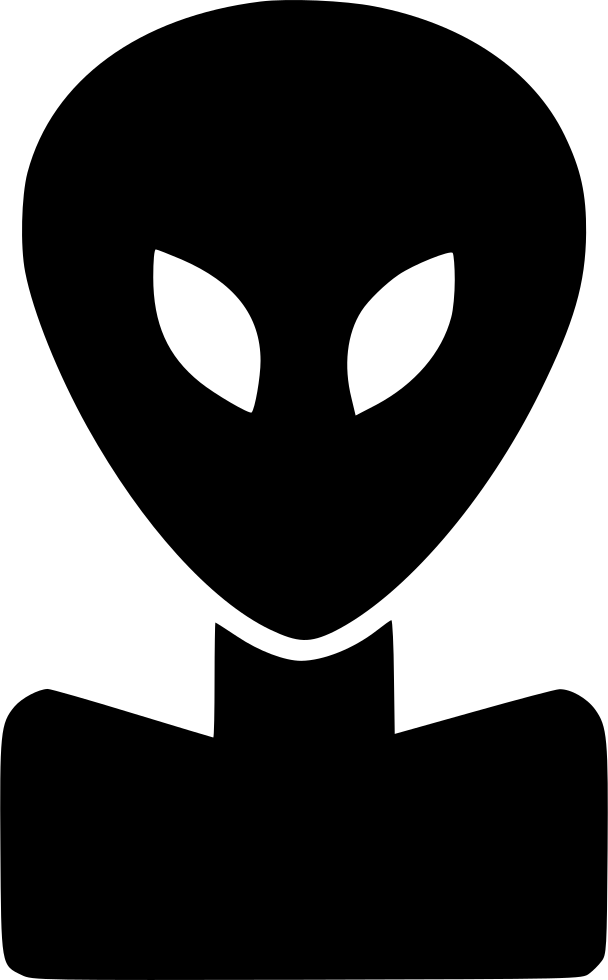 Alien face png. Svg icon free download