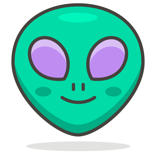 Alien face png. Icon free avatar smileys
