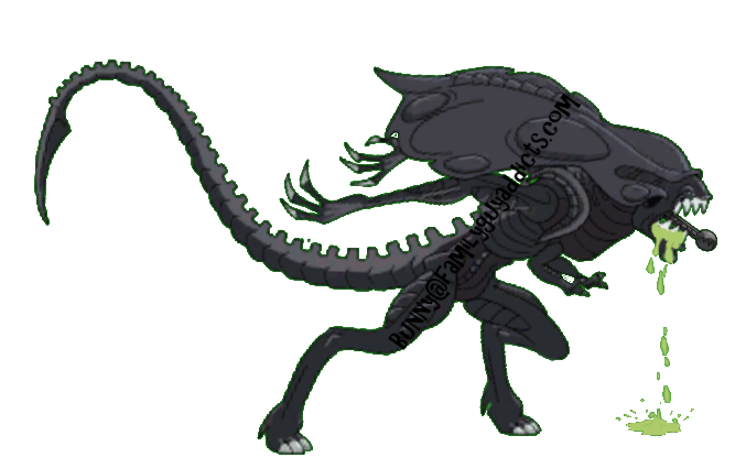 Alien queen png. Decoration family guy addicts