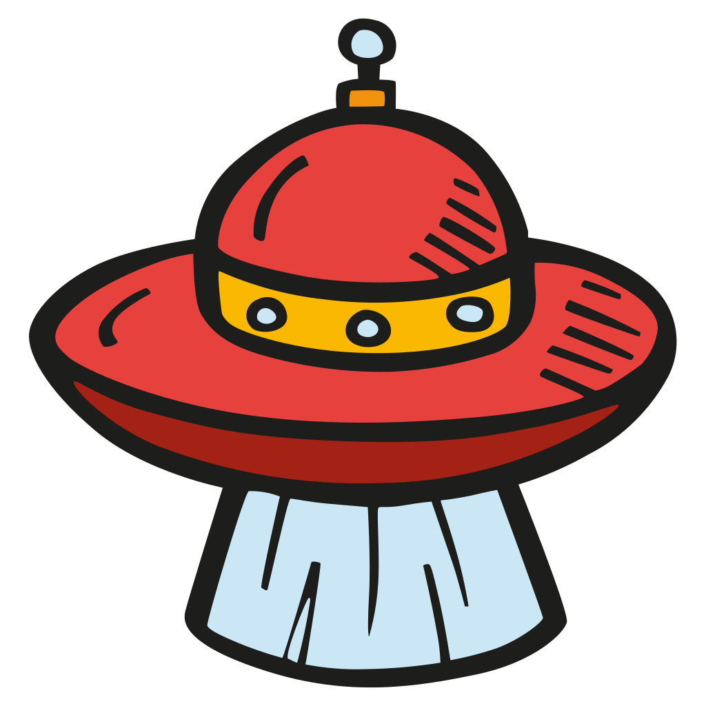 Alien ship png. Beam icon free space