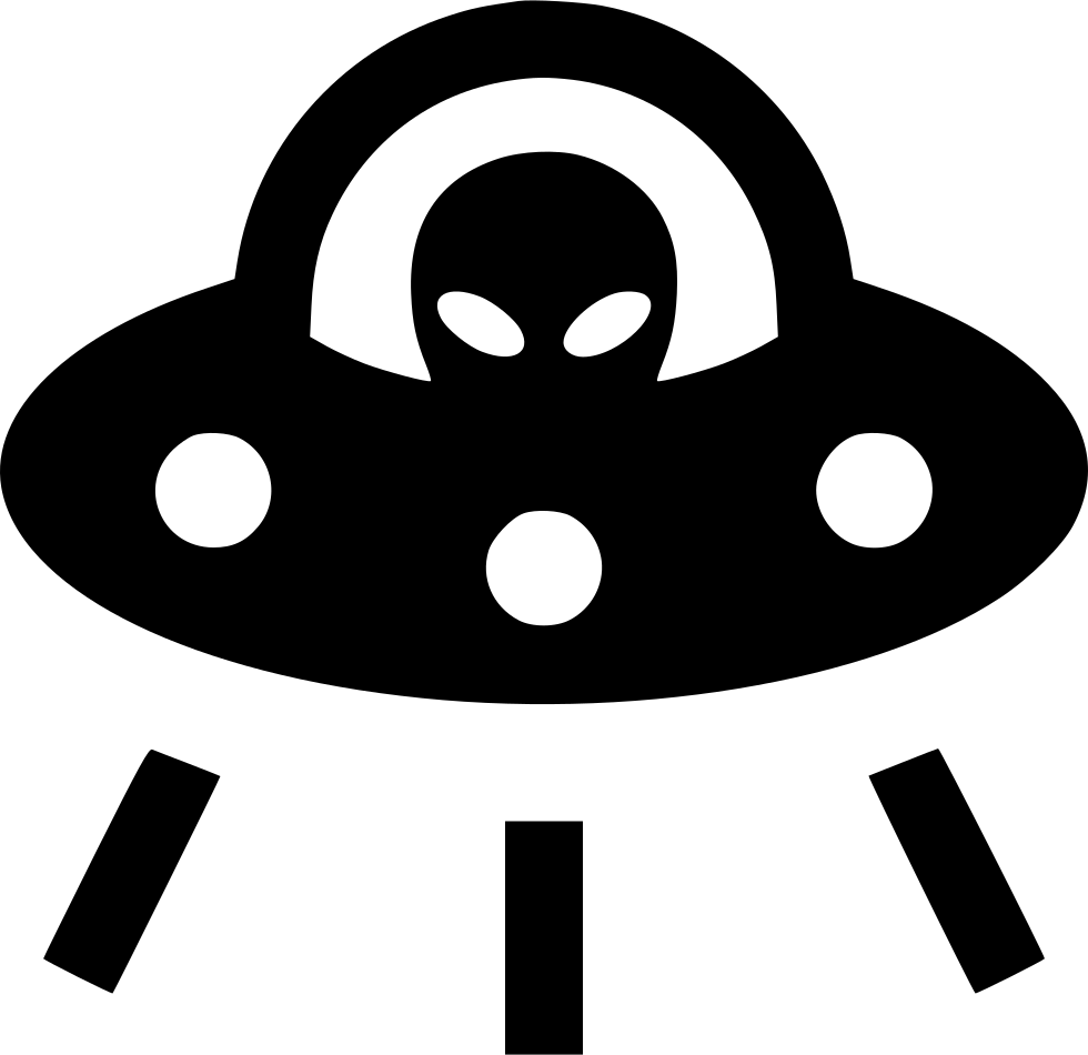 Alien space ship png. Ufo svg icon free