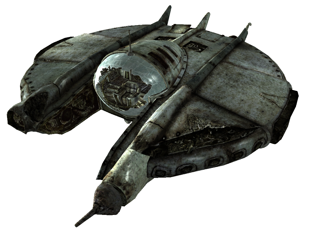 Alien spaceship png. Recon craft fallout wiki