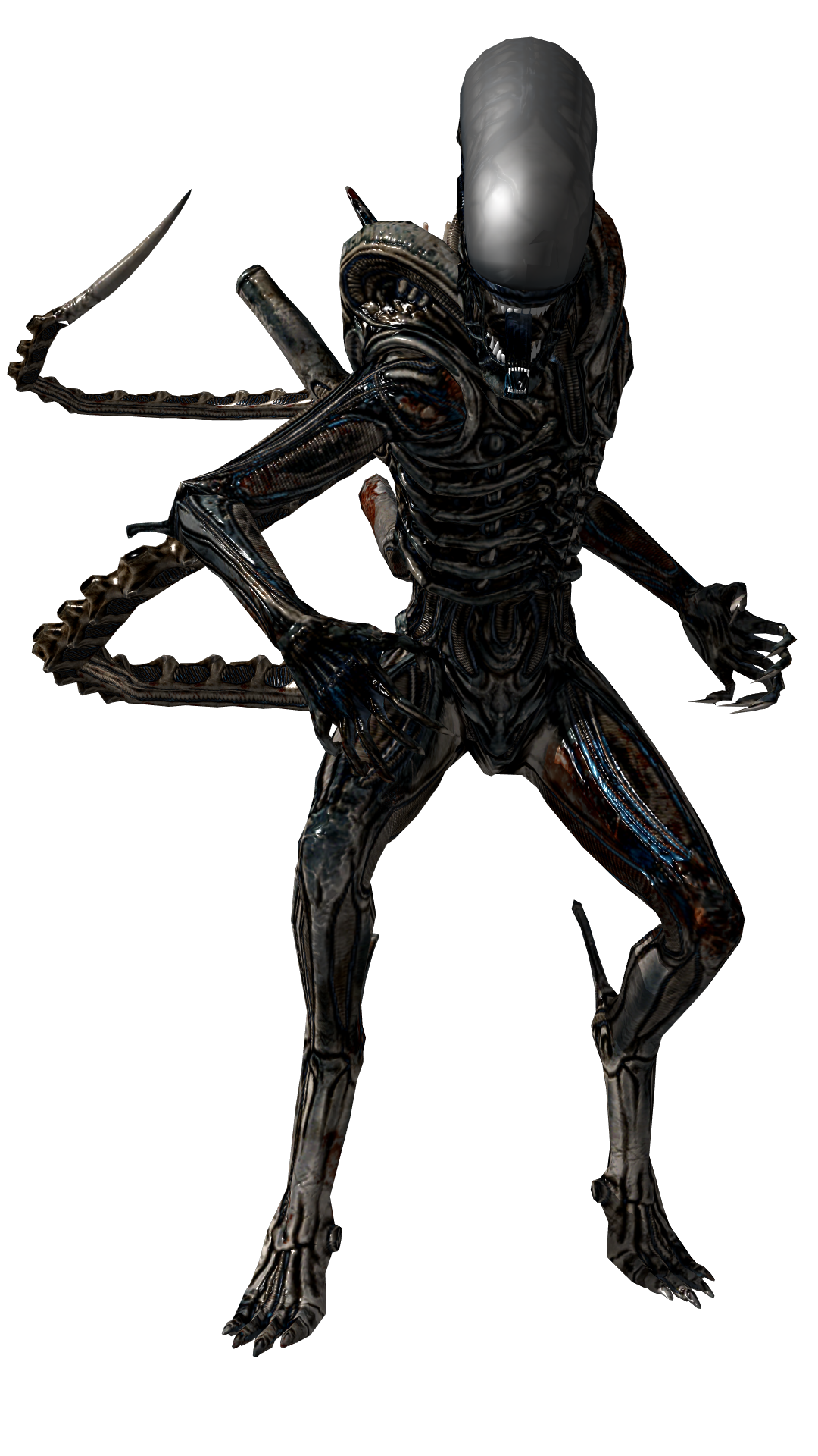 Alien xenomorph png. Image from isolation by